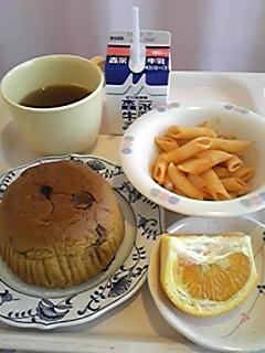 朝食のかんぱん